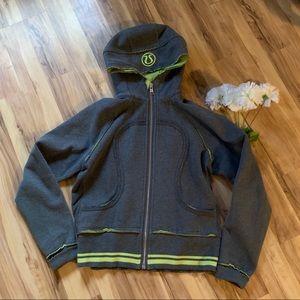 Lululemon hooded zip up sweatshirt size 10